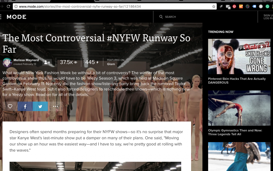 The Most Controversial #NYFW Runway So Far
