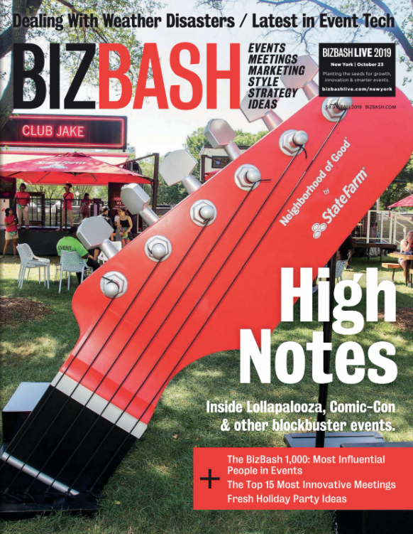 BizBash Fall 2019 Print Issue