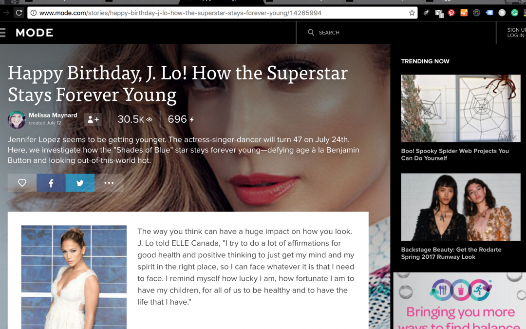 Happy Birthday J.Lo! How the Superstar Stays Forever Young