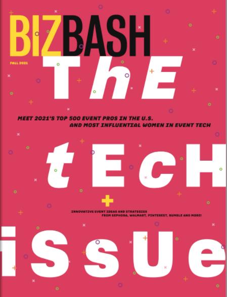 BizBash: The Tech Issue – Print September 2021
